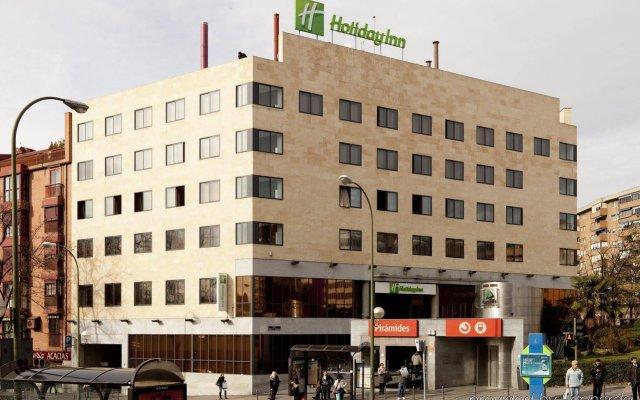 Отель Holiday Inn Madrid - Pirámides вид на фасад