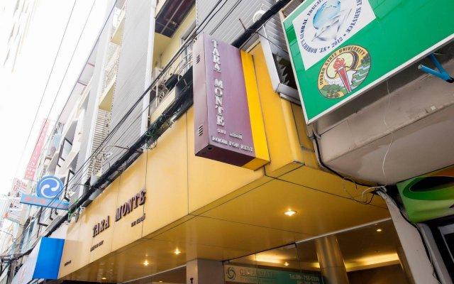 Отель Tara Monte Pratunam Бангкок вид на фасад