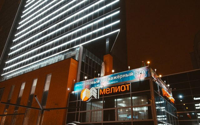 Отель Мелиот Челябинск вид на фасад