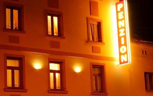 Отель Palace Plzen Пльзень вид на фасад