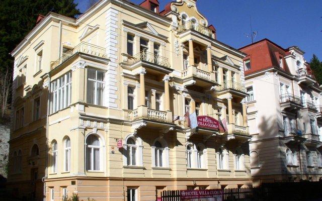 Отель Villa Gloria вид на фасад