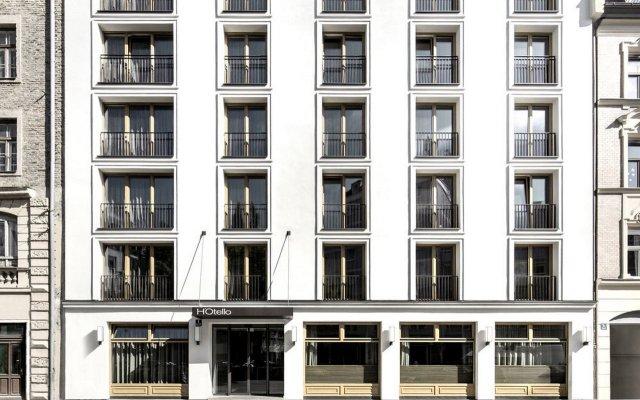 Отель H'Otello B'01 Германия, Мюнхен - 8 отзывов об отеле, цены и фото номеров - забронировать отель H'Otello B'01 онлайн вид на фасад
