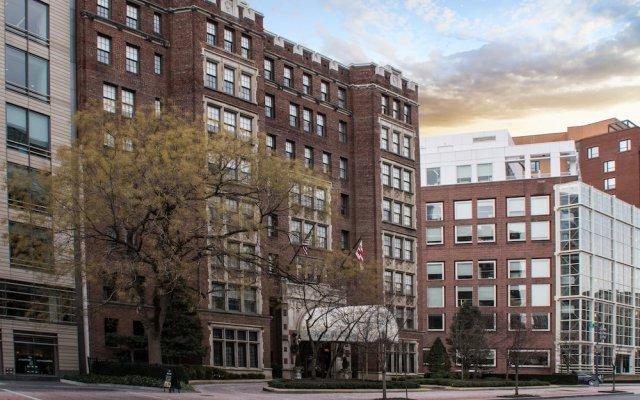 Отель The Henley Park Hotel США, Вашингтон - отзывы, цены и фото номеров - забронировать отель The Henley Park Hotel онлайн вид на фасад