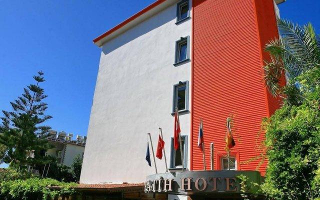 Kleopatra Fatih Hotel Аланья вид на фасад