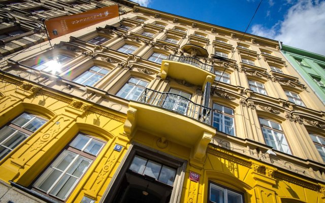Wenceslas Square Hotel Прага вид на фасад