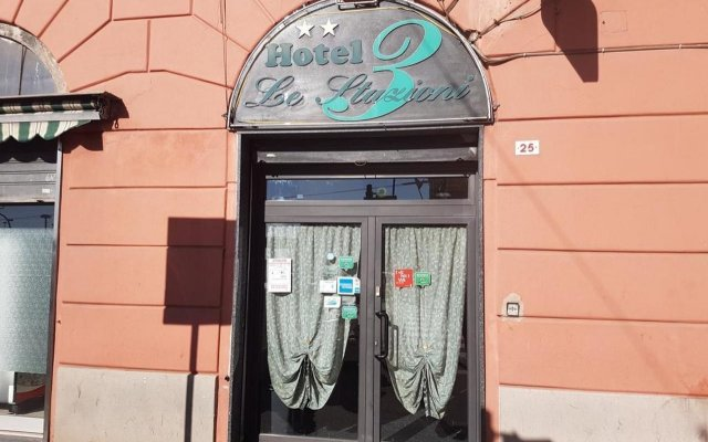 Отель Le Tre Stazioni Генуя вид на фасад