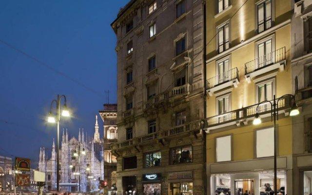 Отель Una Maison Milano Италия, Милан - 1 отзыв об отеле, цены и фото номеров - забронировать отель Una Maison Milano онлайн вид на фасад
