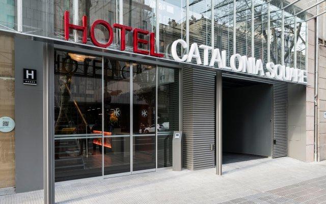 Отель Catalonia Square Испания, Барселона - 4 отзыва об отеле, цены и фото номеров - забронировать отель Catalonia Square онлайн вид на фасад