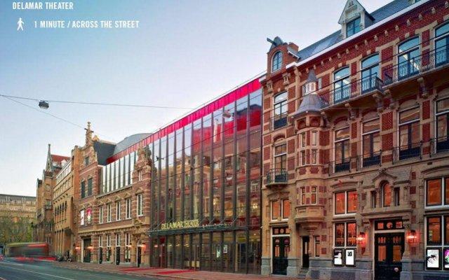 Отель Weber Нидерланды, Амстердам - отзывы, цены и фото номеров - забронировать отель Weber онлайн вид на фасад