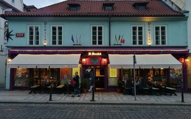 Отель U Svejku Чехия, Прага - отзывы, цены и фото номеров - забронировать отель U Svejku онлайн вид на фасад