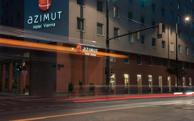 Azimut Hotel Vienna Вена вид на фасад