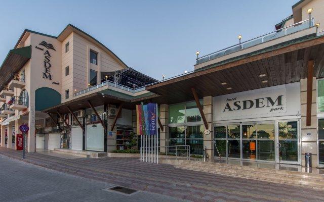 Hotel Asdem Park - All Inclusive вид на фасад