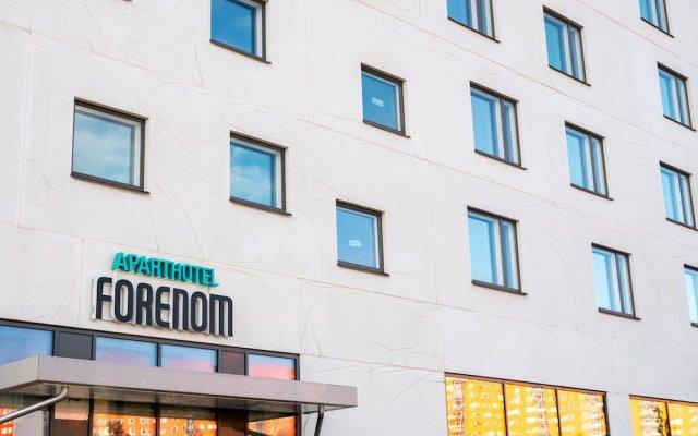 Отель Forenom Aparthotel Stockholm Flemingsberg вид на фасад
