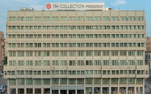 Отель NH Collection Milano President вид на фасад