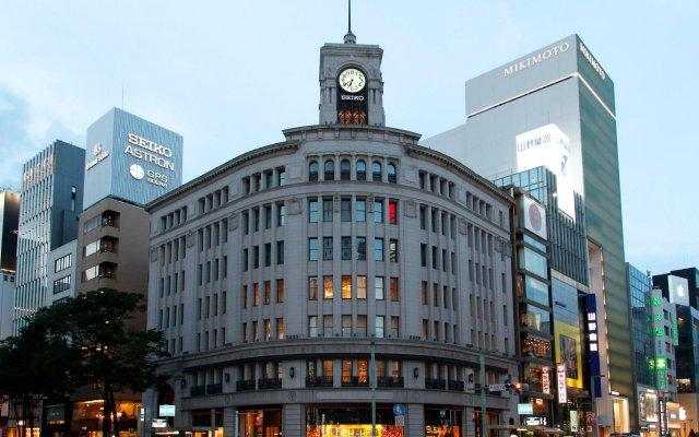 APA Hotel Kanda-Jimbocho-Ekihigashi вид на фасад