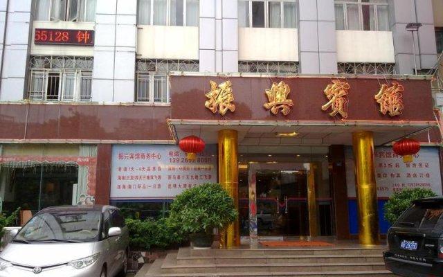 Shenzhen Zhenxing Hotel Шэньчжэнь вид на фасад
