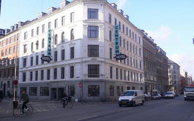 Отель Zleep City Копенгаген вид на фасад