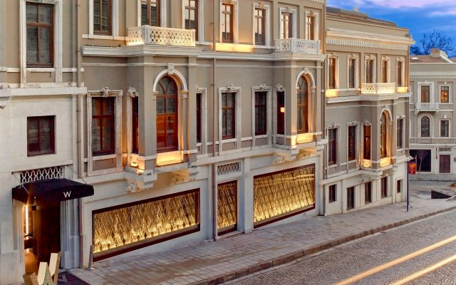 W Istanbul - Special Class Турция, Стамбул - 1 отзыв об отеле, цены и фото номеров - забронировать отель W Istanbul - Special Class онлайн вид на фасад