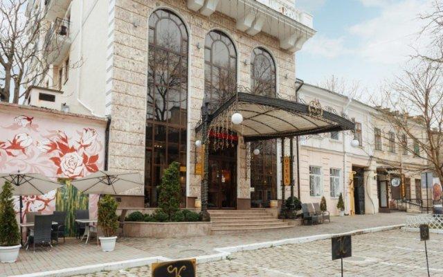 Бутик Отель Калифорния Одесса вид на фасад