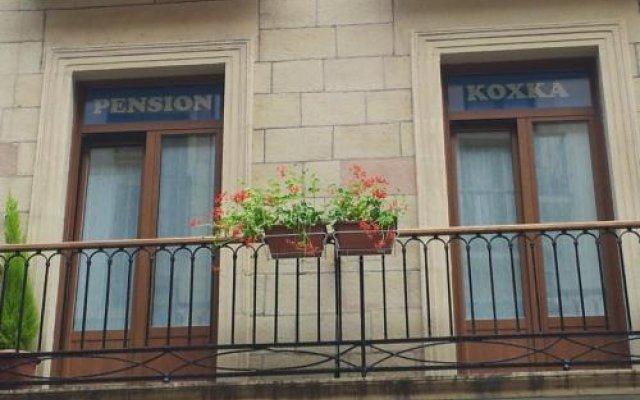 Отель Pension Koxka Испания, Сан-Себастьян - отзывы, цены и фото номеров - забронировать отель Pension Koxka онлайн вид на фасад