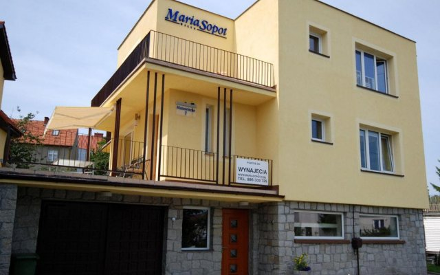 Отель Willa Maria Sopot вид на фасад
