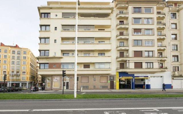 Отель SanSebastianForYou Zurriola Apartment Испания, Сан-Себастьян - отзывы, цены и фото номеров - забронировать отель SanSebastianForYou Zurriola Apartment онлайн вид на фасад