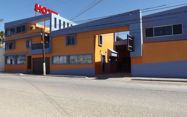 Hotel Los Altos вид на фасад