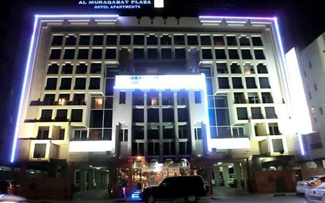 Al Muraqabat Plaza Hotel Apartments вид на фасад