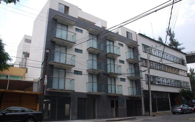 Отель HOMFOR Мехико вид на фасад