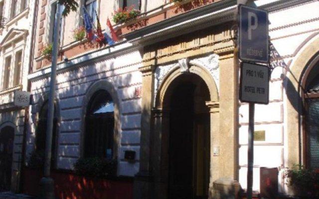 Hotel Petr вид на фасад