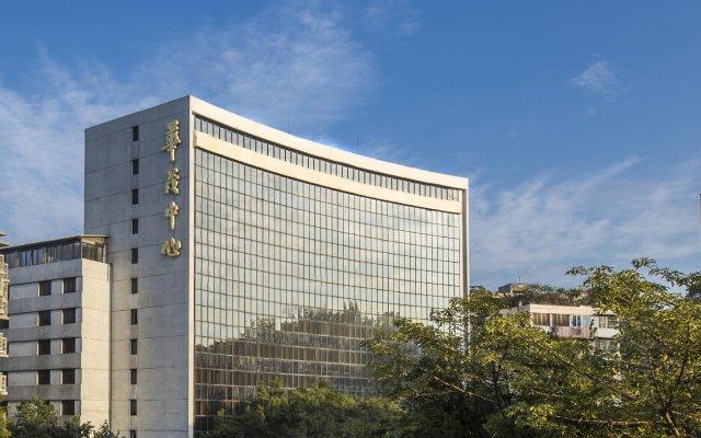 Sino Hotel Guangzhou вид на фасад