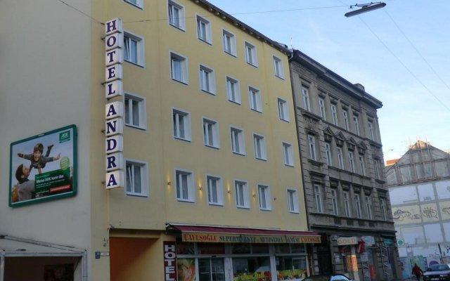 Отель Andra München Германия, Мюнхен - 8 отзывов об отеле, цены и фото номеров - забронировать отель Andra München онлайн вид на фасад