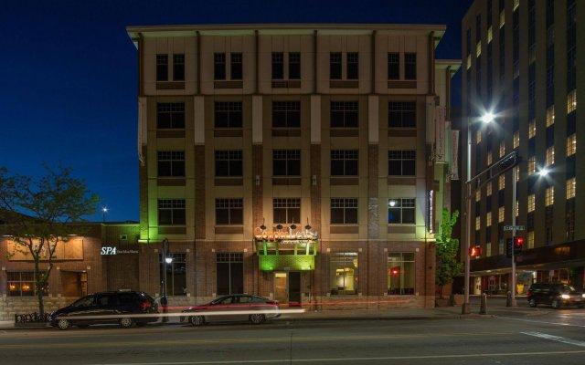 CopperLeaf Boutique Hotel & Spa вид на фасад