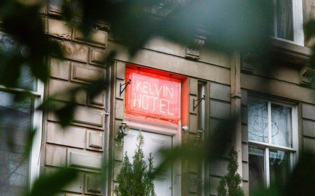 Отель The Kelvin Глазго вид на фасад