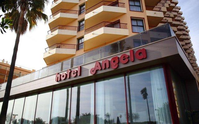 Отель Angela - Adults Recommended Испания, Фуэнхирола - отзывы, цены и фото номеров - забронировать отель Angela - Adults Recommended онлайн вид на фасад