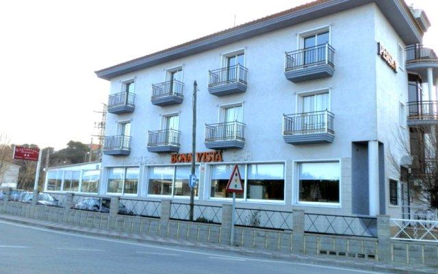 Отель Hostal Bonavista Испания, Бланес - 1 отзыв об отеле, цены и фото номеров - забронировать отель Hostal Bonavista онлайн вид на фасад