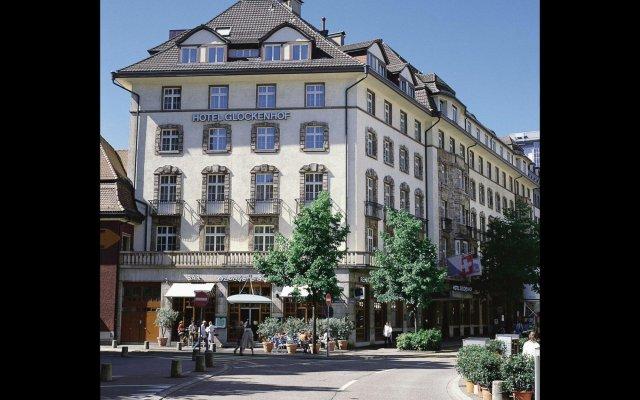 Hotel Glockenhof Цюрих вид на фасад