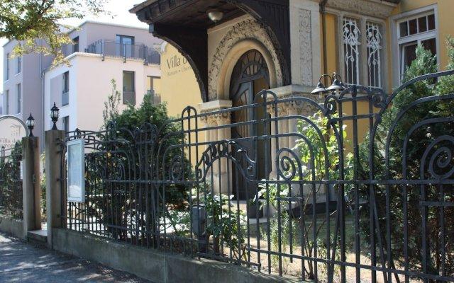 Отель Villa De Baron Германия, Дрезден - отзывы, цены и фото номеров - забронировать отель Villa De Baron онлайн вид на фасад