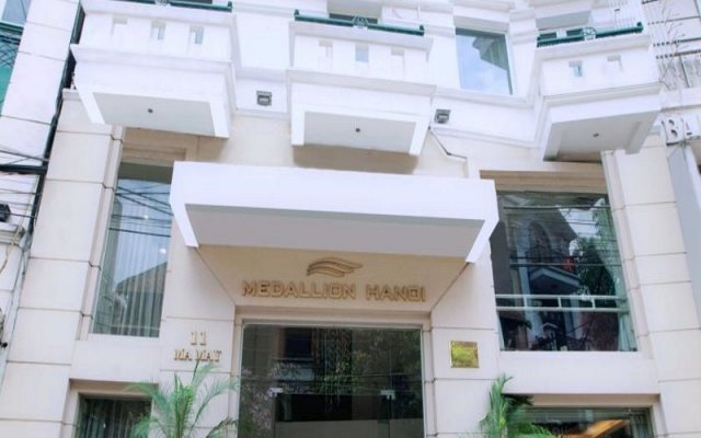 Medallion Hanoi Hotel вид на фасад