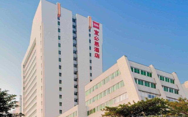 Отель IBIS Guangzhou GDD вид на фасад
