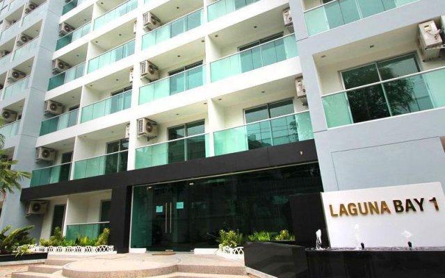 Апартаменты Laguna Bay Rental Apartments Паттайя вид на фасад