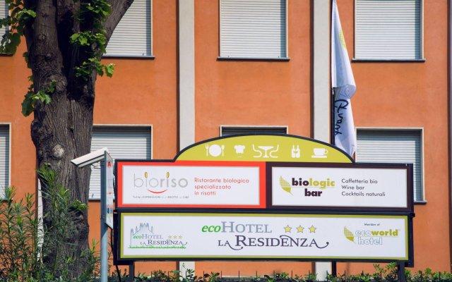 Отель Eco-Hotel La Residenza Италия, Милан - 7 отзывов об отеле, цены и фото номеров - забронировать отель Eco-Hotel La Residenza онлайн вид на фасад