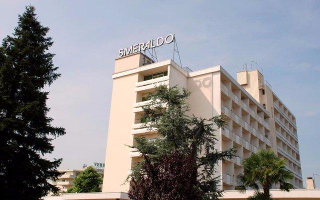 Отель Smeraldo Италия, Абано-Терме - отзывы, цены и фото номеров - забронировать отель Smeraldo онлайн вид на фасад