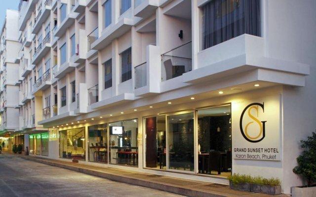 Grand Sunset Hotel вид на фасад
