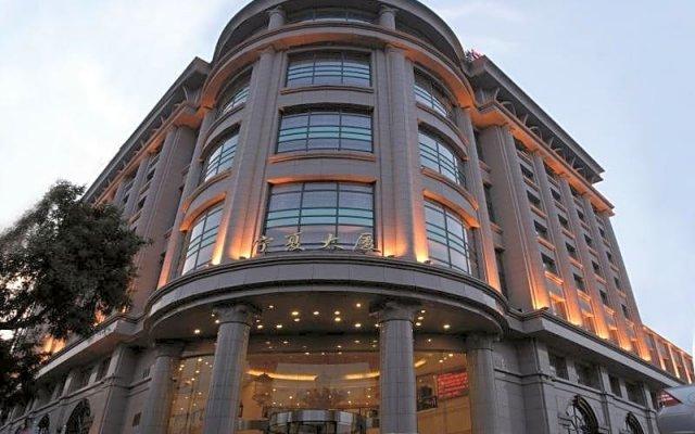 Отель Beijing Ningxia Hotel Китай, Пекин - отзывы, цены и фото номеров - забронировать отель Beijing Ningxia Hotel онлайн вид на фасад
