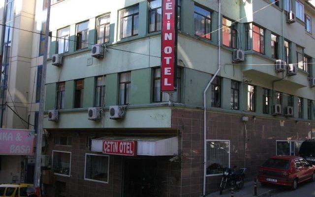 Cetin Hotel вид на фасад