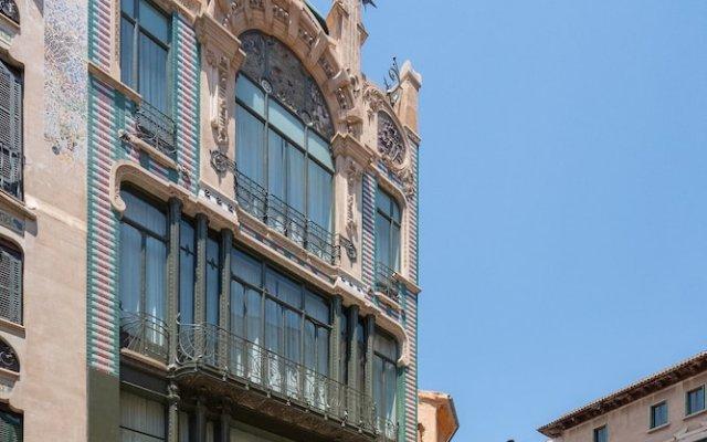 Отель L'Aguila Apartments Turismo de Interior Испания, Пальма-де-Майорка - отзывы, цены и фото номеров - забронировать отель L'Aguila Apartments Turismo de Interior онлайн вид на фасад