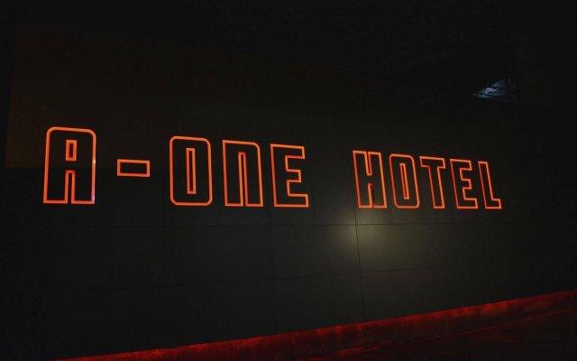 Отель A-One Motel Бангкок вид на фасад