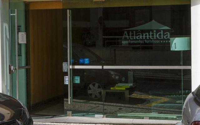 Отель Apartamentos Turisticos Atlantida вид на фасад