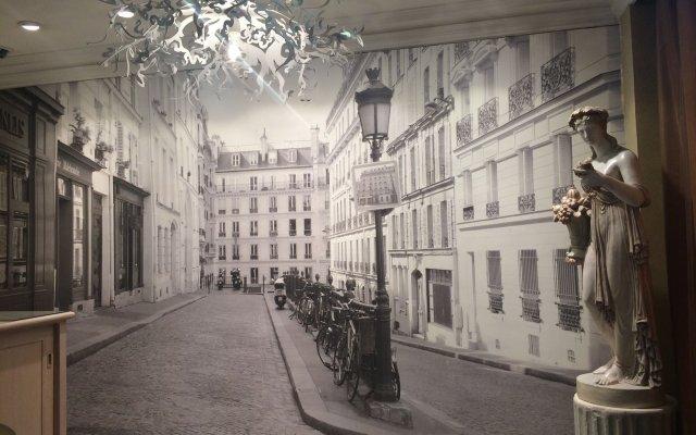 Отель Elysa Luxembourg Париж вид на фасад